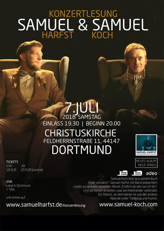 Samuel Harfst & Samuel Koch live in Dortmund