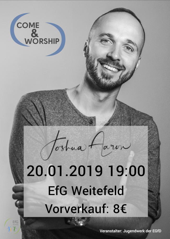 Come & Worship mit Joshua Aaron