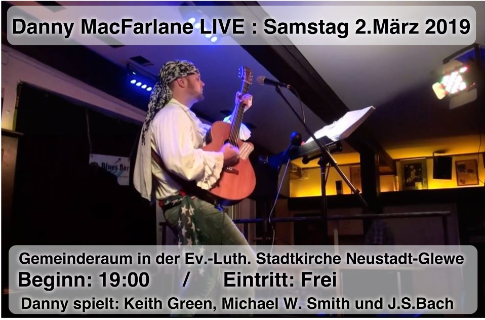 Danny MAC Farlane Live