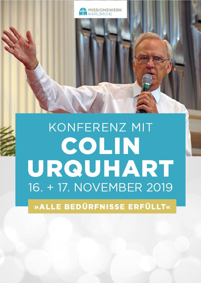 Konferenz mit Colin Urquhart