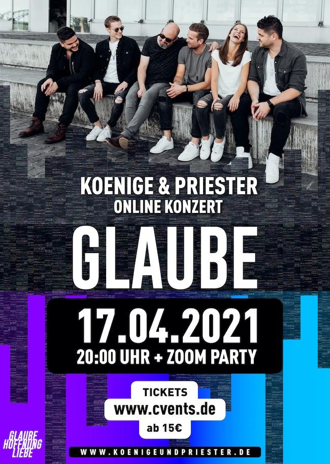 Aufzeichnungen Koenige & Priester - Das dreiteilige Online Konzert + ZOOM Party