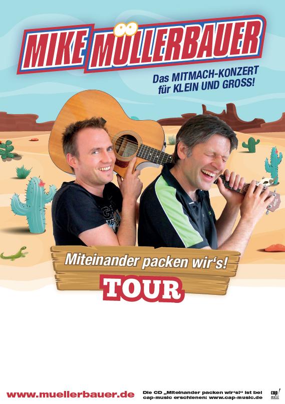 Mike Müllerbauer - Das Mitmach-Konzert für klein und groß