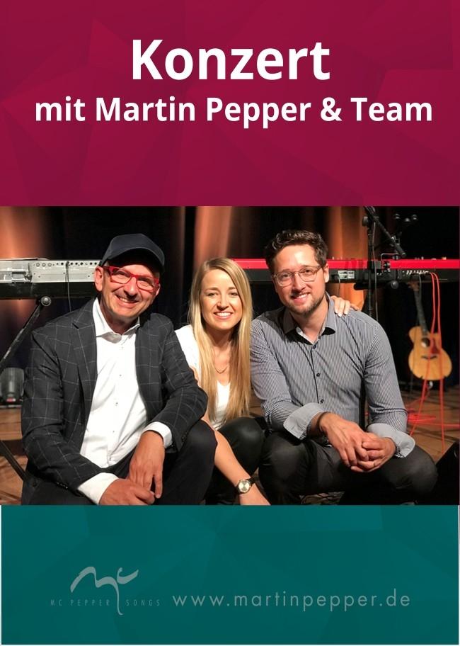 Konzert mit Martin Pepper & Team