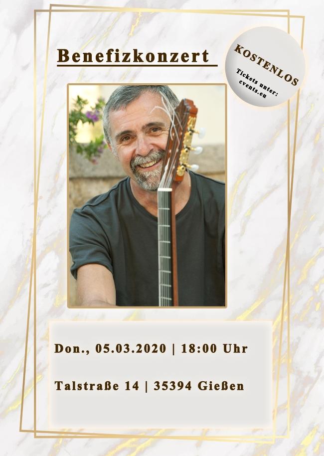 Benefizkonzert mit Manfred Siebald