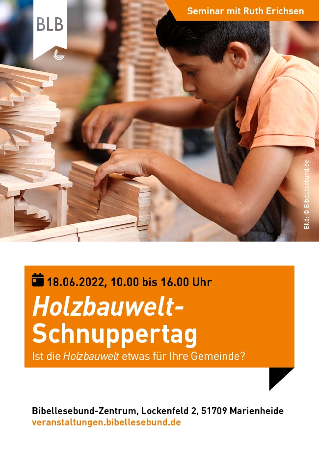Holzbauwelt-Schnuppertag