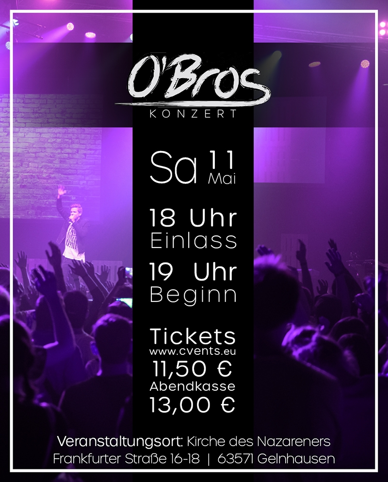 O´Bros Konzert in Hessen