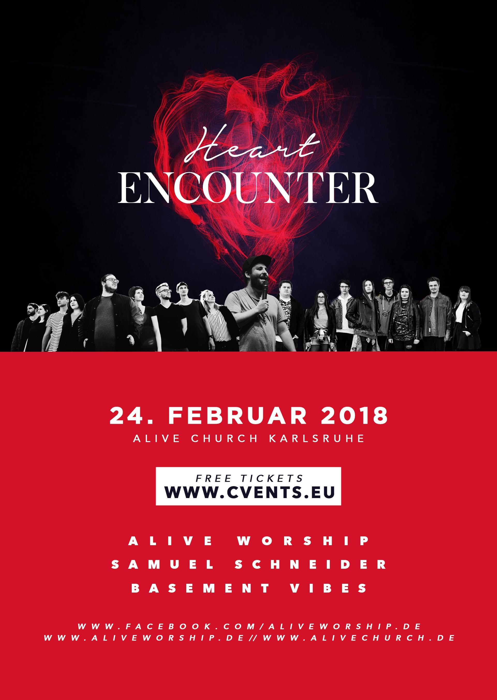 Heart Encounter - Worshipnight