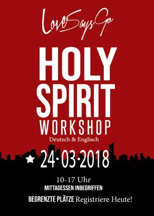 HOLY SPIRIT WORKSHOP - Deutsch und Englisch