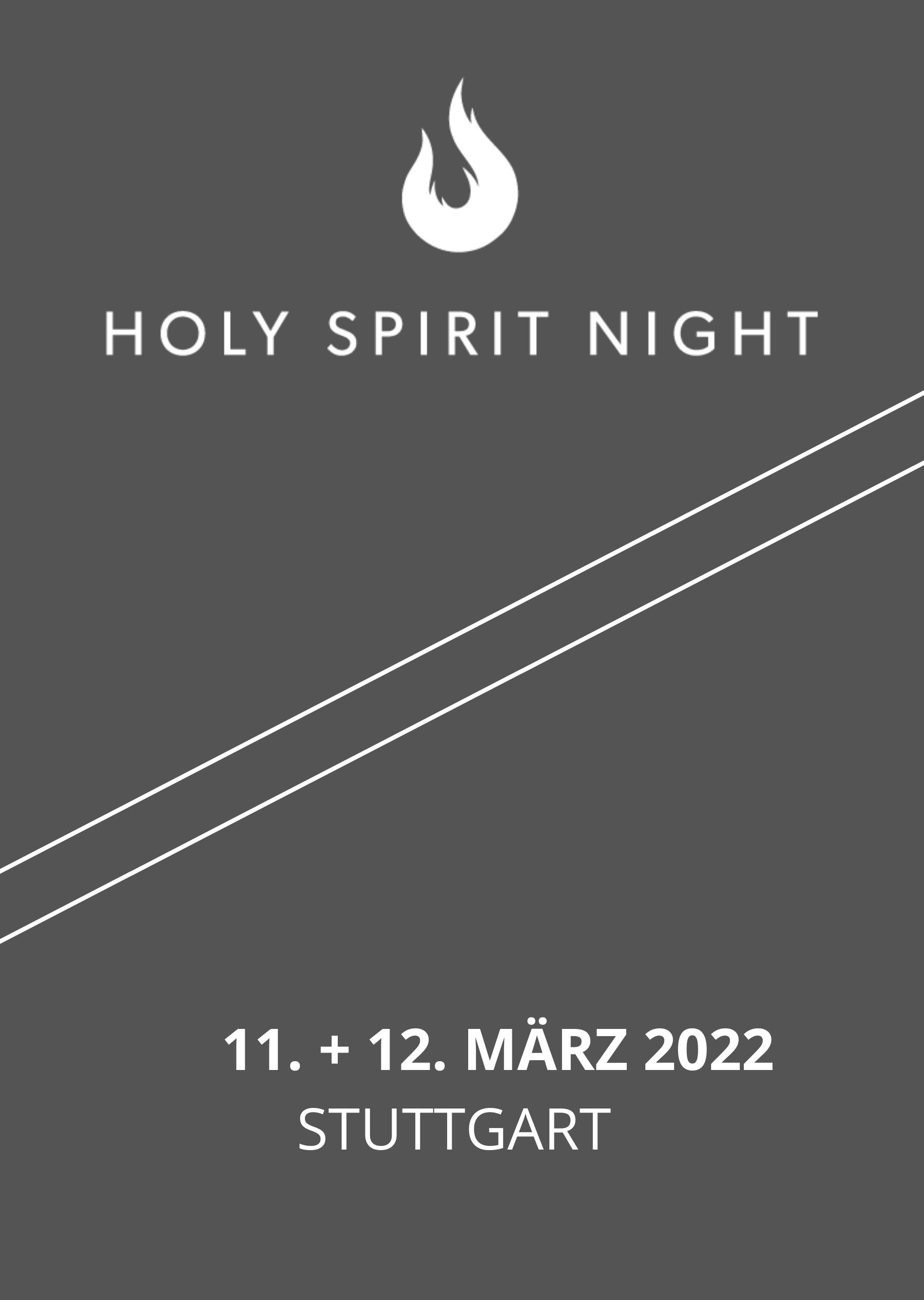 Holy Spirit Night | März 2022
