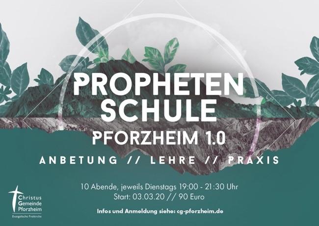 Prophetenschule Pforzheim 1.0