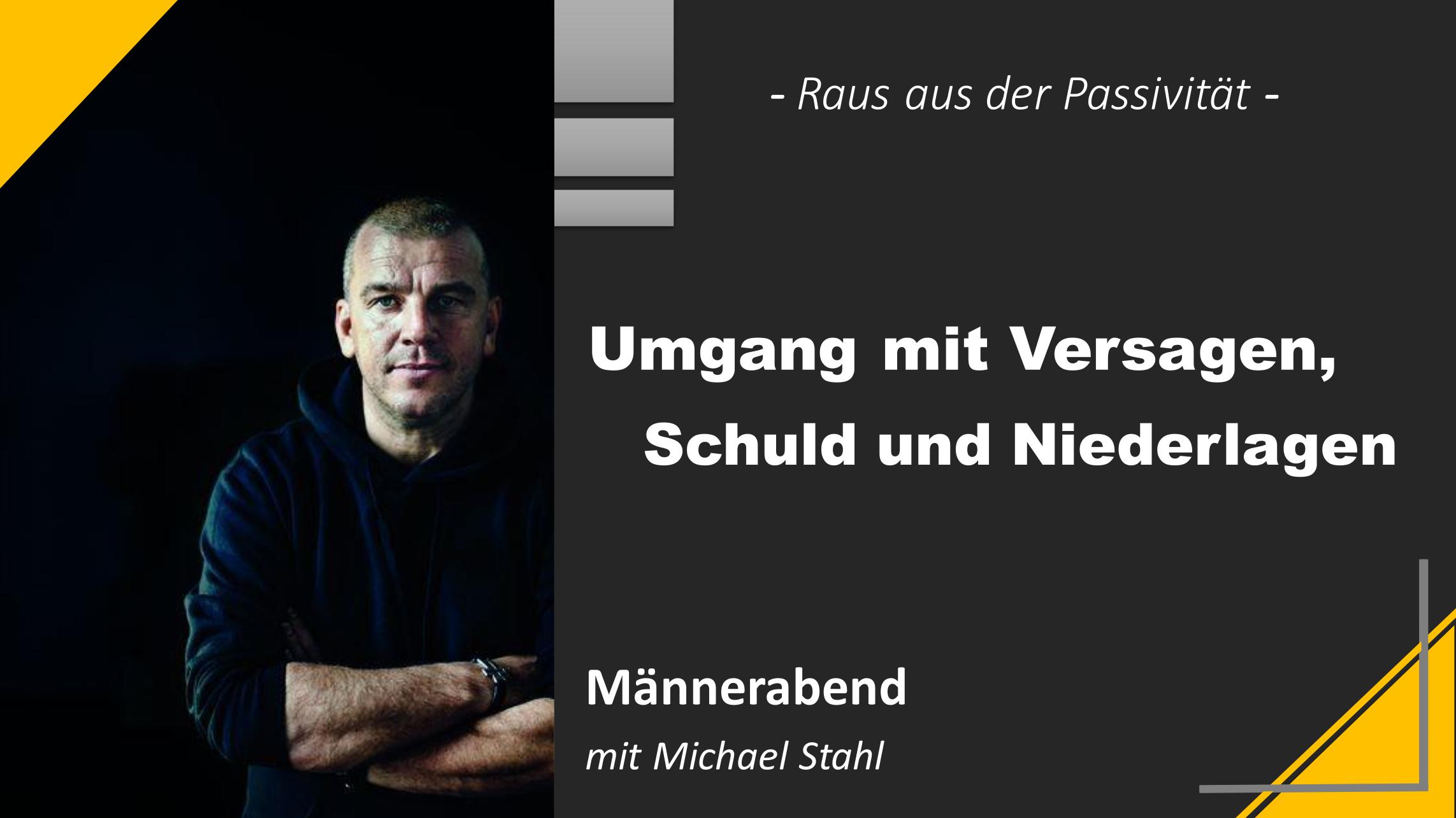 Männerabend mit Michael Stahl