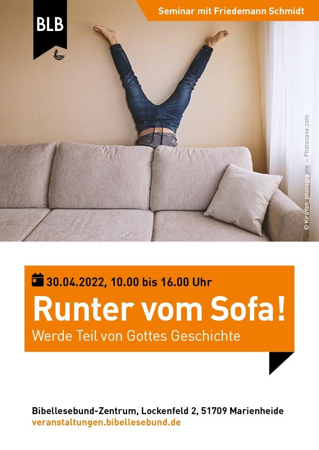 Runter vom Sofa