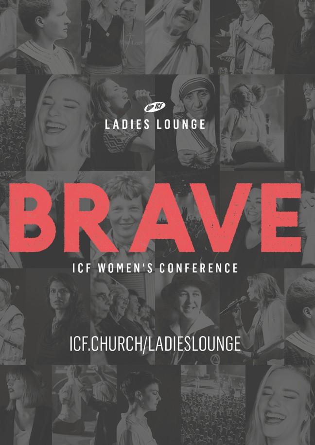 ICF Ladies Lounge 2018 - BRAVE!