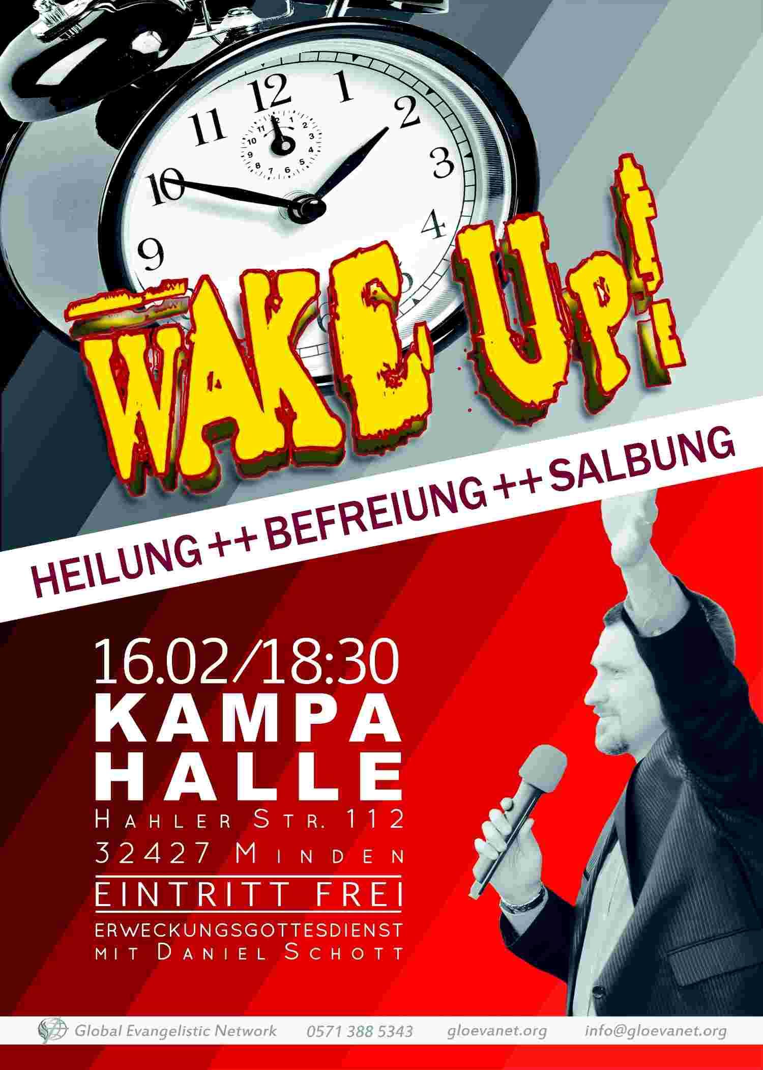 WAKE UP! Heilungs-/Erweckungsgottesdienst